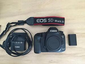 Canon 5d Mark iii mk3 come with Battery and Charger Botany Botany Bay Area Preview