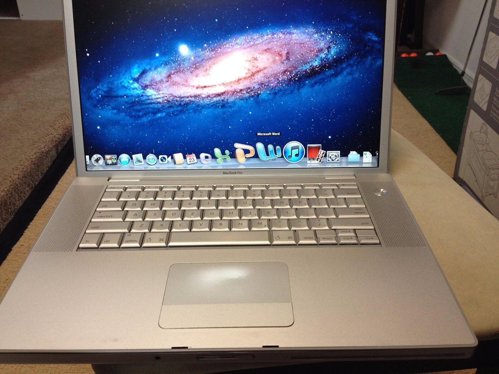Apple Macbook Pro Intel Dualcore Webcam Mac Osx Lion X 7 Microsoft Office Laptop Ebay