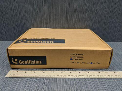 GeoVision POE0801 Gv-Poe0801 8Port 130W 802.3 At 2-Port Gigabit