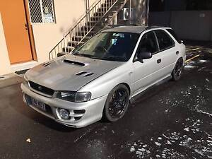 1999 Subaru Impreza Hatchback Bundall Gold Coast City Preview