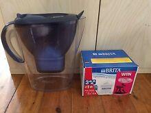 Brita Water Filter Jug + 4 unused Filter Cartridges Leumeah Campbelltown Area Preview