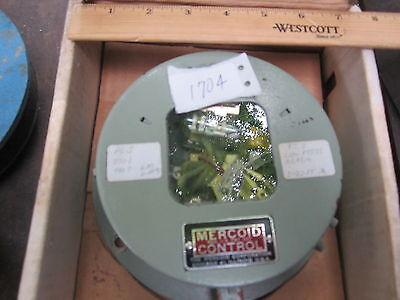Mercoid Da-23-127 Pressure Switch 0-600 Psi Mercontrol Da 23 127