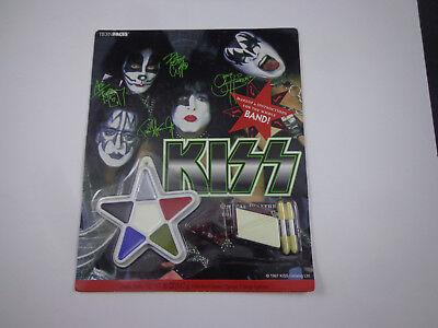 Kiss Makeup Halloween (* kiss  makeup kit- vintage unused)