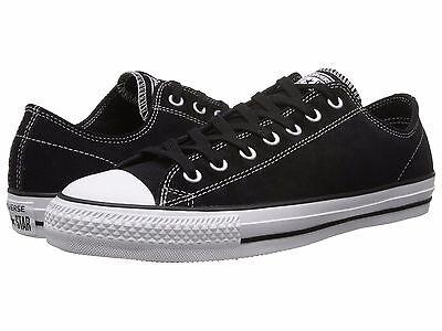 Cons 144585C Suede Ctas Pro Ox Black   White Shoes W  Lunarlon Msrp  77