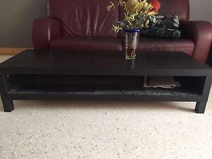 Black wood coffee table Norwood Norwood Area Preview