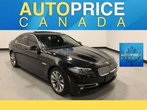 2014 BMW 528i xDrive MOONROOF|NAVIGATION|LEATHER|ONE OWNER|CL...
