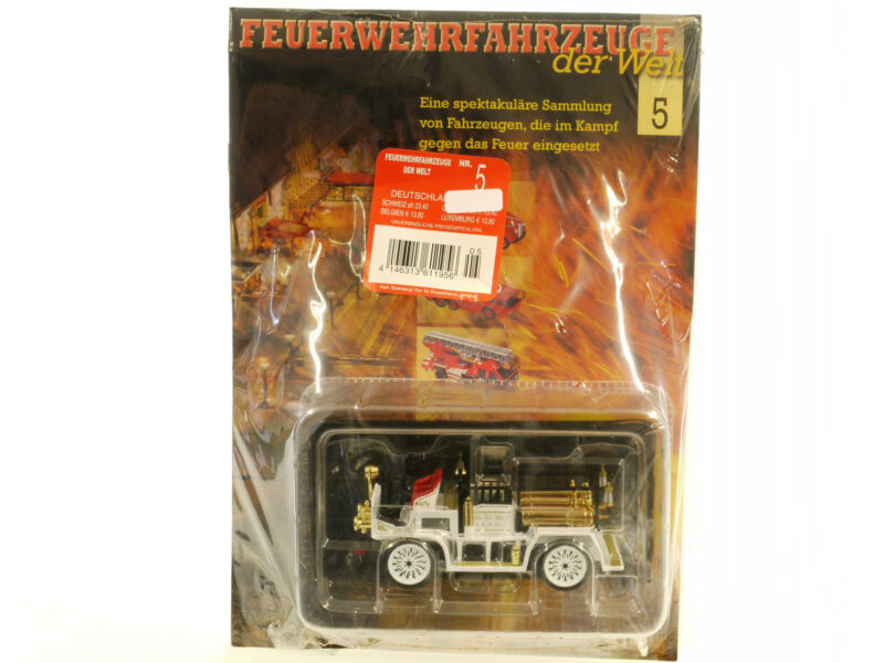 Fire Department Truck the World Nr.5 1907 Seagrave AC53 USA 1:43 Nip 1409-20-14