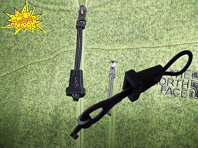 Atomic's Zipper Pull Hidden Handcuff Key - survival prepper bugout bag