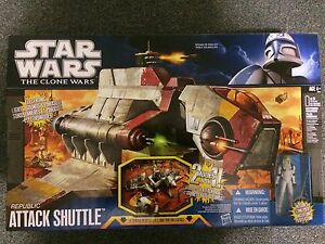 Star Wars The Clone Wars Republic Attack Shuttle