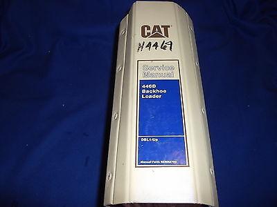Cat Caterpillar 446d Loader Backhoe Service Shop Repair Book Manual Sn Dbl1-up