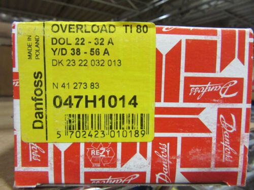Danfoss 047H1014 Overload Relay TI80 Range 22-32A NEW!!! in Box Free 2 Day FedEx
