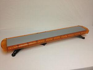 light bar lightbar strobe led 47 034 warning amber amber semi trucks. Black Bedroom Furniture Sets. Home Design Ideas