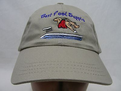 BEST POOL SUPPLY - EMBROIDERED - ADJUSTABLE BALL CAP