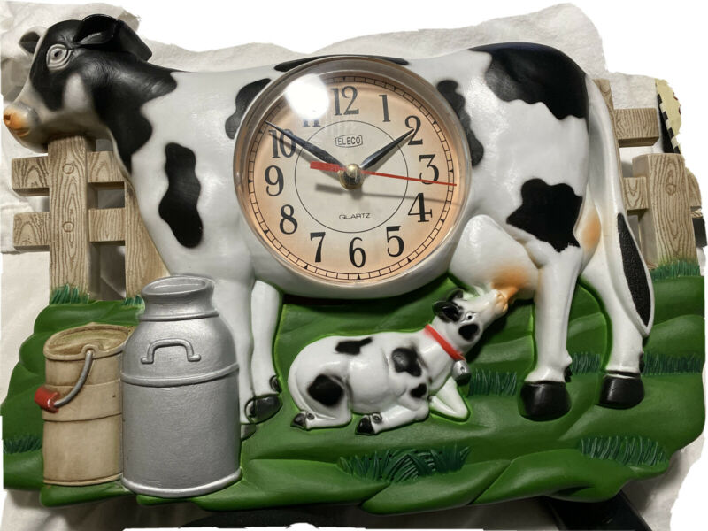 Life Style Milk Cow Clock