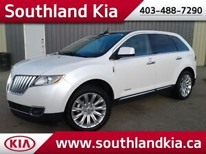 2011 Lincoln MKX LIMITED    **LEATHER-NAV-SUNROOF**