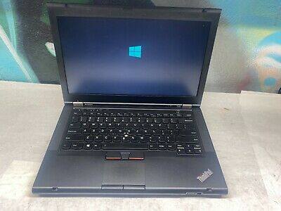 "Lenovo Thinkpad T520 15"" Laptop Core i5 2.4 GHz 250GB - 4GB Windows 10"