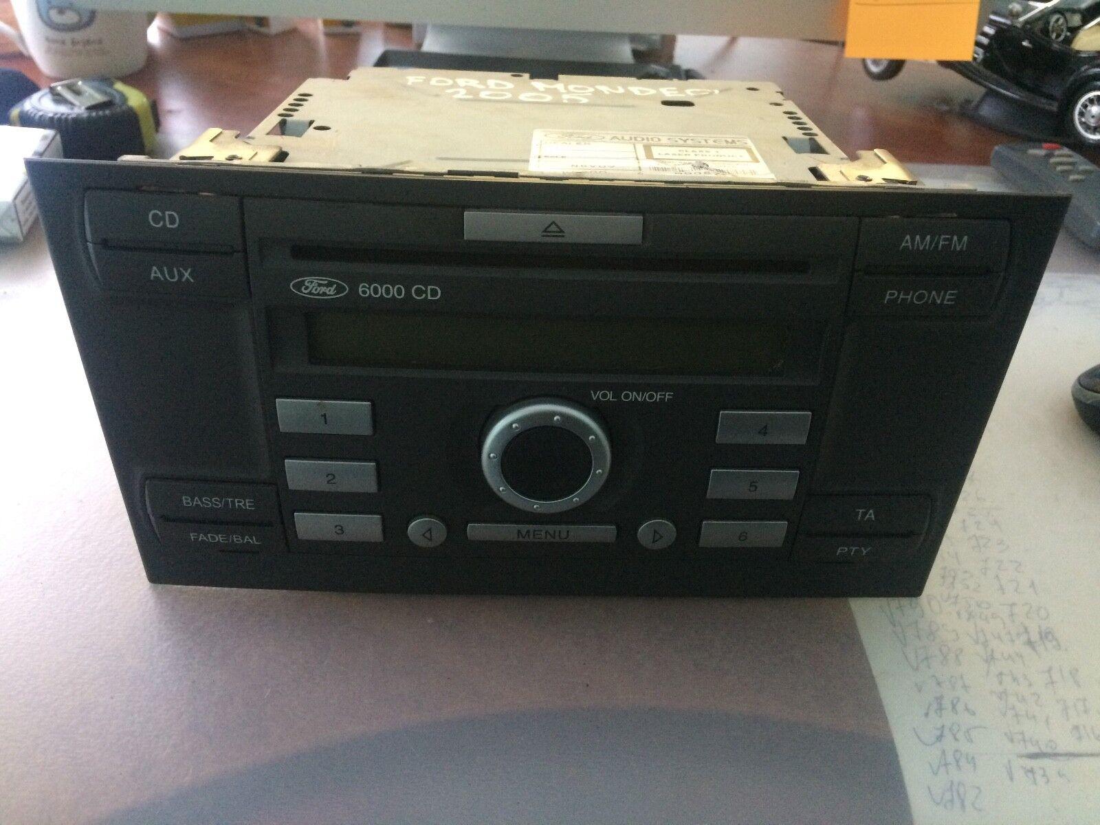 Ford CD Radio RY1085 5S7T-18C815-AB