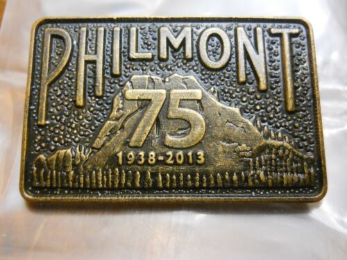 PHILMONT SCOUT RANCH 75TH ANNIVERSARY HAT PIN, 1938-2013 (NEW IN PACKAGE)