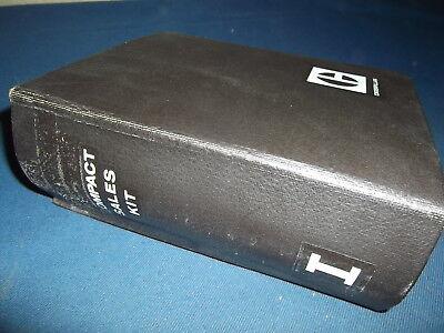 Caterpillar 955l 955k 953 951c 951b 943 941b 931b Compact Sales Kit Book Manual