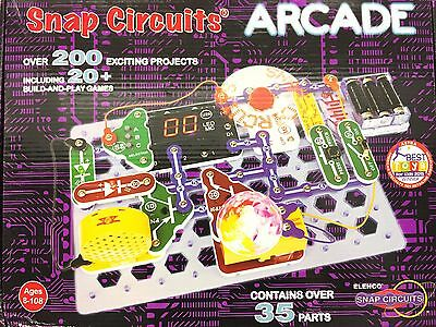 Elenco Snap Circuits Arcade Electronics Discovery Kit SCA-200