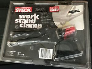 Steck work stand clamp