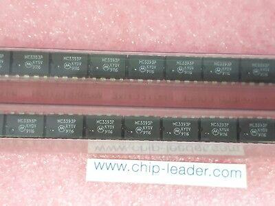 100x Motorola Mc3393p Ic Prescaler Cmos Pdip-8