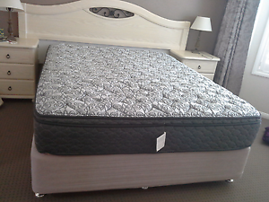 Queens  bed  and mattress Mackenzie Brisbane South East Preview