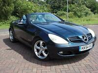 MERCEDES 1,8 SLK200 KOMPRESSOR CONVERTIBLE 2004 54 REG FACE LIFT