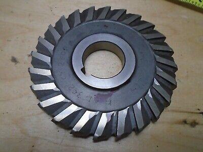 """HSS Milling convex cutter size 3//16/"""" x OD 3 3//4/"""" ID bore 1/""""  LLOYD"""