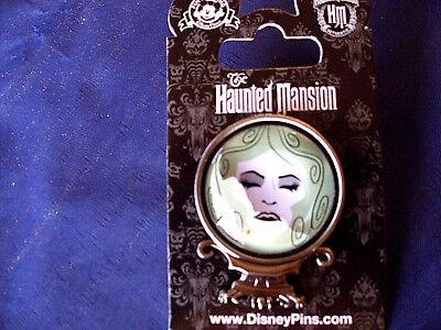 Disney HAUNTED MANSION - MADAM LEOTA - CRYSTAL BALL * New on Card Attraction Pin