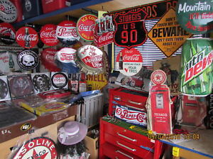 METAL  SIGN  COLLECTION