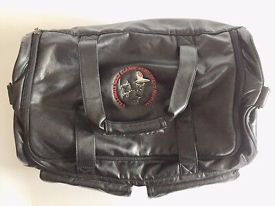 Rare Ohio State Woody Hayes Celebrity Golf Classic  Leather Duffel Bag