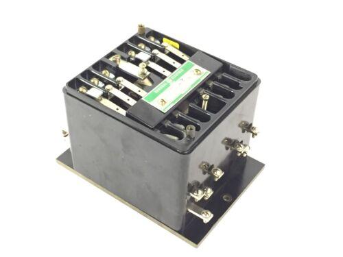 General Electric Relay Model 12HFA151A9H, 120 Volt, Multicontact