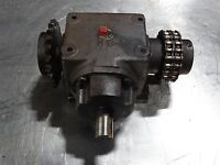 "Browning Bevel Gear Box 6HB1-LR10 Bevel Gear Box 1:1 Approx 1"" Shaft Dia 1"""