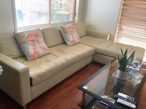 leather Conner sofa