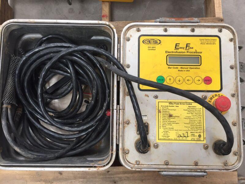 Central Easy Fuse Electrofusion Processor