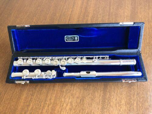 Wm S Haynes Silver flute Commercial model (c.1954)