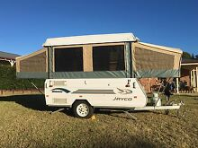 JAYCO FINCH 2004 WINDUP CARAVAN WITH 6 X 7 ENCLOSED AWNING Camden Camden Area Preview