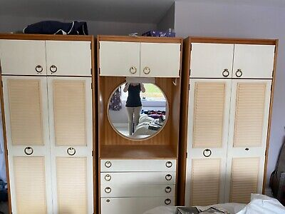 schreiber wardrobe and dresser set