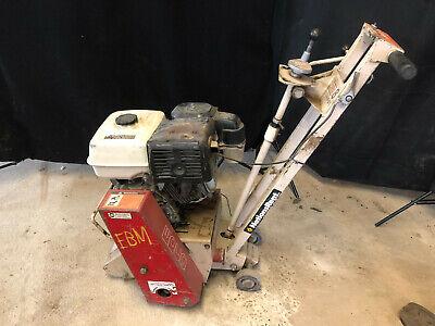 Edco Scarifier Cmp-8 Concrete Grinderplaner Walk Behind Honda Gas Engine