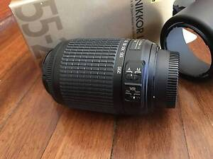 NIKON AF-S 55-200mm F4.5-5.6G ED VR ZOOM LENS -AS NEW CONDITION, Surry Hills Inner Sydney Preview