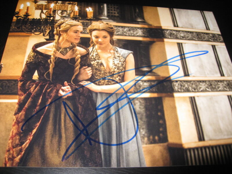 NATALIE DORMER SIGNED AUTOGRAPH 8x10 PHOTO GAME OF THRONES IN PERSON COA AUTO G