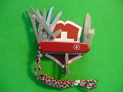 "NTSA SWISS ARMY VICTORINOX MULTIFUNCTION POCKET KNIFE SIX LAYER ""HANDYMAN"""