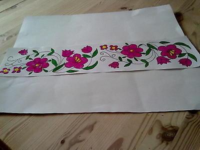 Window Color Bild Blumen Girlande