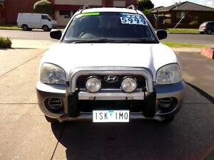 2004 HYUNDAI SANTAFE AUTO 4X4 Bacchus Marsh Moorabool Area Preview