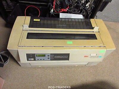 OKI 4410 Matrix 9 Pin Nadel Impact Drucker SERIAL PARALLEL A3 Printer YELLOW