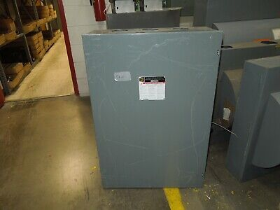 Square D 82355 400a 3p 240vac Double Throw Non-fusible Manual Transfer Switch
