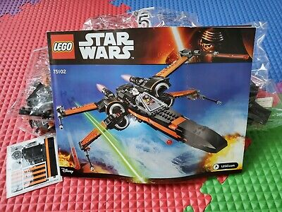 lego star wars poe's x-wing fighter 75102 NO BOX factory sealed bags