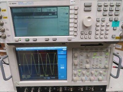 Agilent E4438c 250khz - 3.0 Ghz Esg Vector Signal Generator W Options Ng24