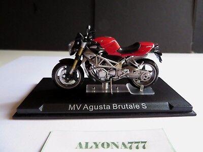 MOTO MV AGUSTA BRUTALE S 118 1//24